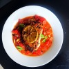 Pan Fried Red Bream with Warm Roasted Tomato Salsa