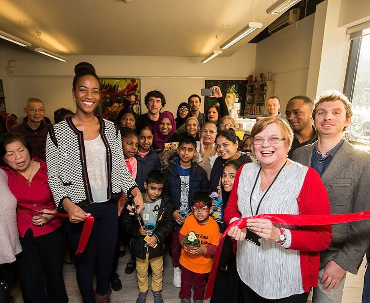 Honoured to have officially launched Gingerbread Reading Scheme at Thehellip