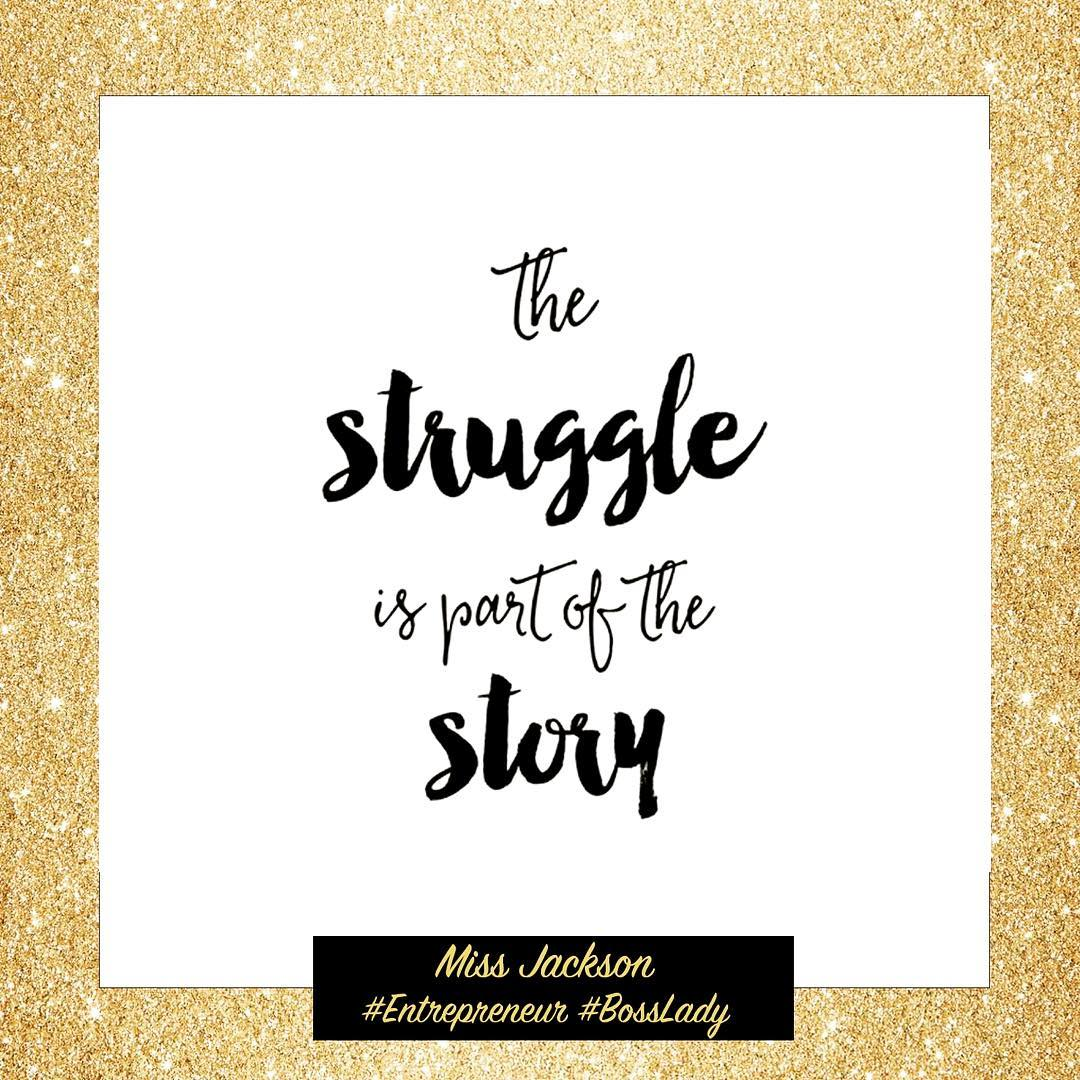 The struggle is part of the story you dont seehellip