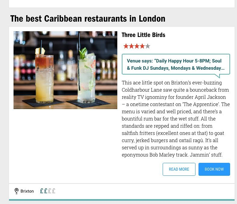 Have to share the moment when timeoutlondon lists your restauranthellip