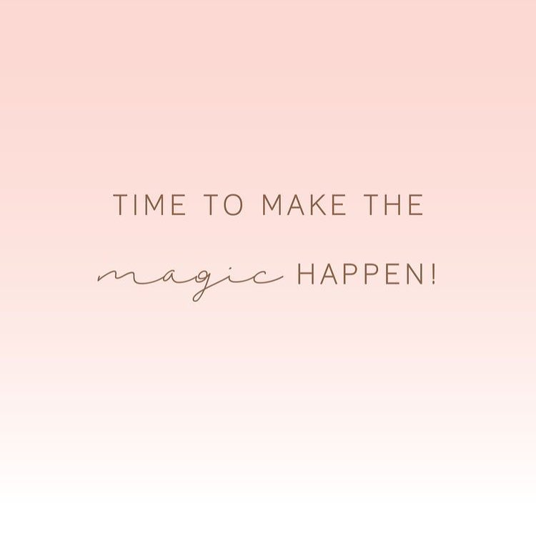 Lets do this! Happy Monday Own your magical powers andhellip