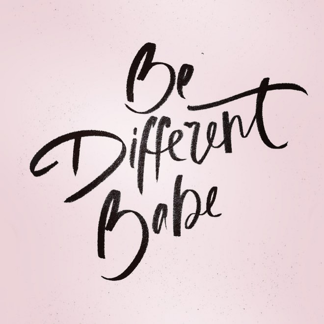 Embrace being different and be proud of your desire youhellip